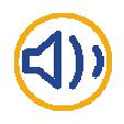 Logo alarme bleu et jaune Arnaud et Blanc