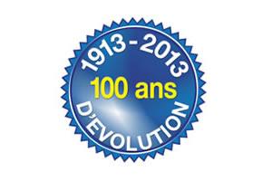 1913-2013 100 ans d'évolution