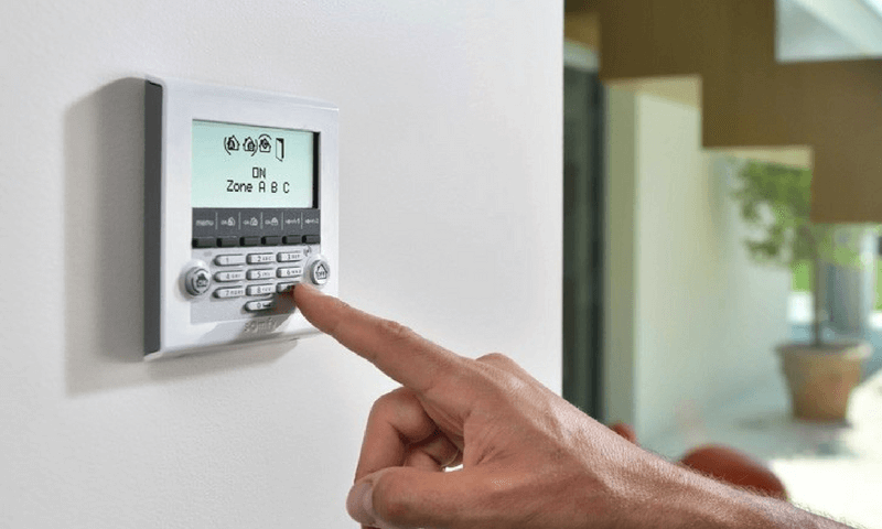 Alarme réglable manuellement Somfy