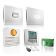 Kit alarme blanc pour maison Somfy