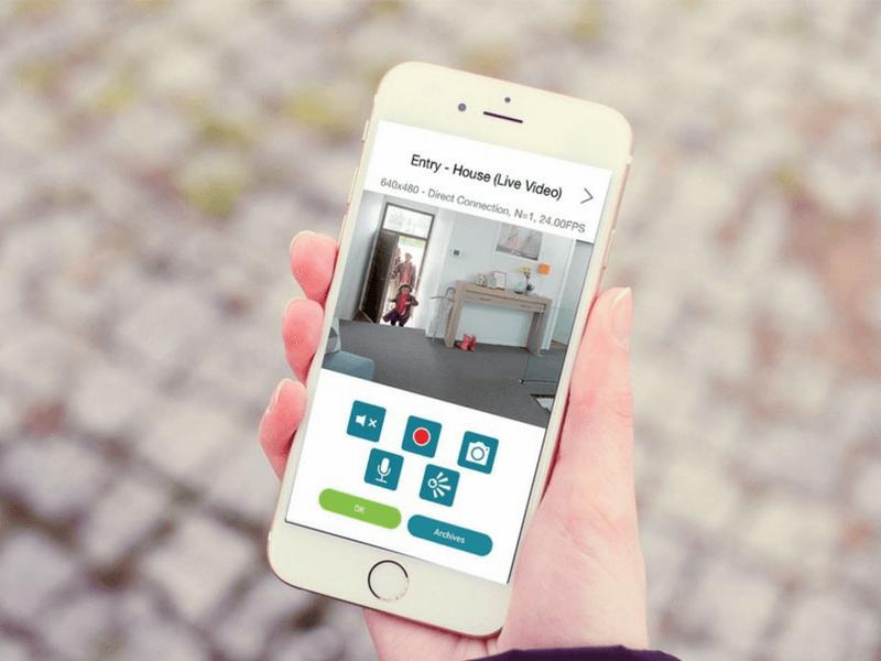 Alarme avec connexion direct sur smartphone S