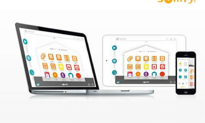 Ordinateur,tablette et smatphone pour une maison connectée