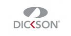 Dickson store logo gris et rouge