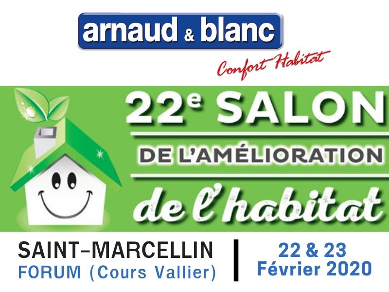 ARNAUD ET BLANC_Actu Salon de l'habitat St marcellin-