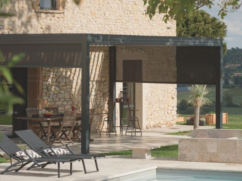 Arnaud & Blanc - Store pergolas gleize